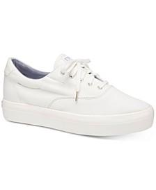 Rise Denim Lace-Up Sneaker
