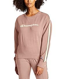 Women's Heritage Varsity-Stripe Sweatshirt