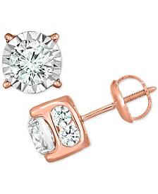 TruMiracle™ Diamond Stud Earrings (2 ct. t.w.)