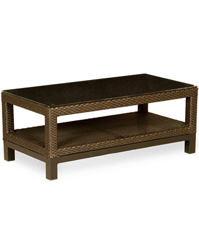 Belize Wicker Outdoor Coffee Table, Created for Macy's