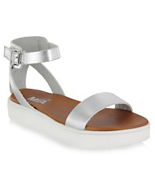 Mia Kids Girls Little Ellen Sneaker Bottom Sandals