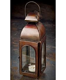 """KINDWER 10"""" Antique Finish Candle Lantern"""