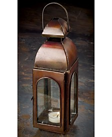 "St. Croix KINDWER 10"" Antique Finish Candle Lantern"