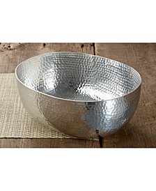 """KINDWER 12"""" Hammered Aluminum Bowl"""