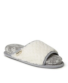 Dearfoams Women's Cloud Step Slide Slipper, Online Only