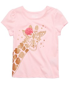 Epic Threads Little Girls Giraffe T-Shirt, Created for Macy's