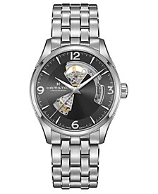 Men's Swiss Automatic Jazzmaster Stainless Steel Bracelet Watch 42mm