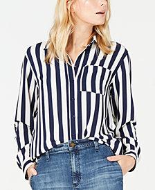 Michael Michael Kors Striped Oversized Shirt