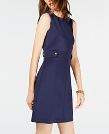 Michael Michael Kors Crewneck Dress, Regular & Petite Sizes