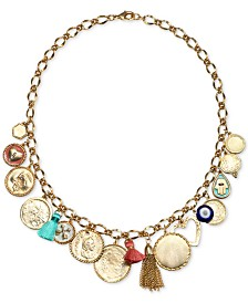 Capwell Charm Tassel Necklace