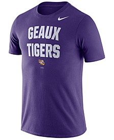 Men's LSU Tigers Dri-FIT Local Verbiage T-Shirt