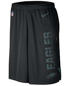 Nike Men's Philadelphia Eagles Player Knit Breathe Shorts