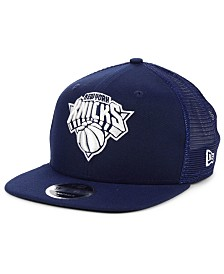New Era New York Knicks Dub Fresh Trucker 9FIFTY Snapback Cap