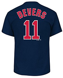 Men's Rafael Devers Boston Red Sox Official Player T-Shirt