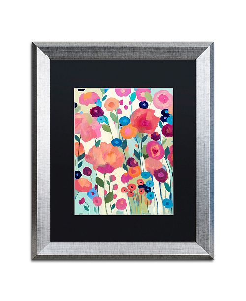 "Trademark Global Carrie Schmitt 'How'd You Get So Pretty' Matted Framed Art - 16"" x 20"""