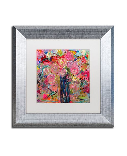 "Trademark Global Carrie Schmitt 'Release' Matted Framed Art - 11"" x 11"""