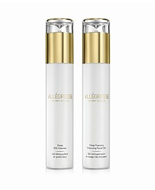 Allegresse 24K Skincare Deep Cleansing 2 Piece Set