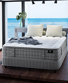 """Hotel Collection by Aireloom Handmade 14"""" Cushion Firm Mattress with Adjustable Base- Queen, Created for Macy's"""