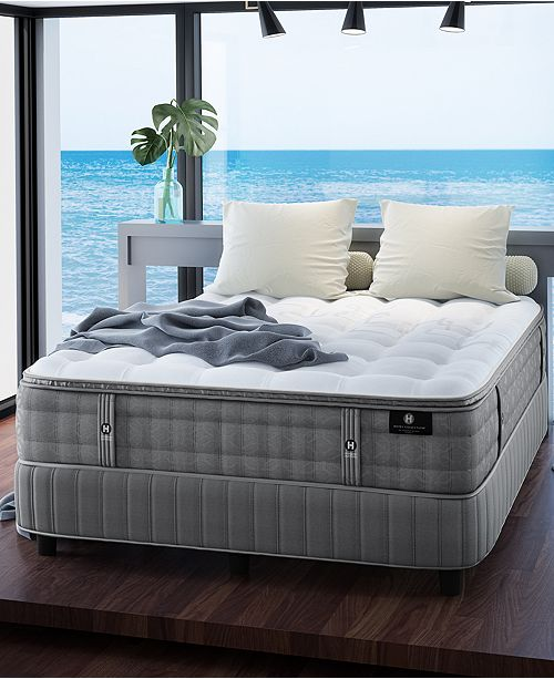 "Hotel Collection by Aireloom Handmade 14.5"" Luxury Plush Luxetop Mattress with Adjustable Base- Queen, Created for Macy's"