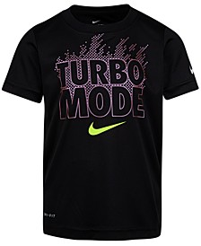 Little Boys Turbo Mode-Print Cotton T-Shirt