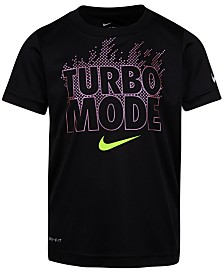 Nike Toddler Boys Turbo Mode-Print Cotton T-Shirt