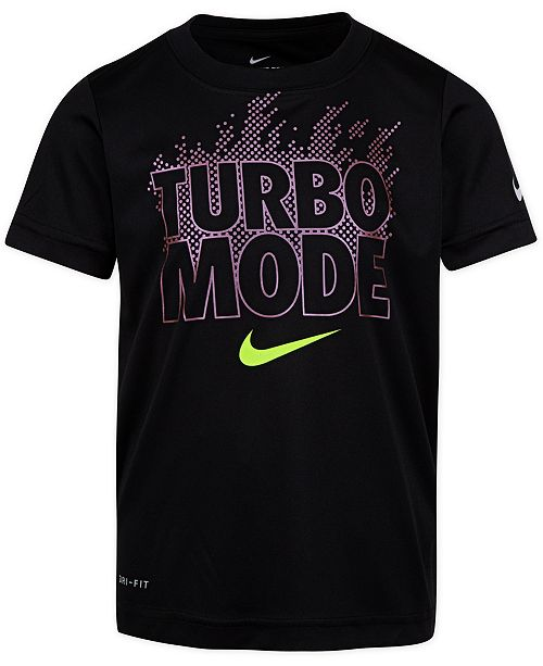 Nike Toddler Boys Turbo Mode-Print Cotton T-Shirt