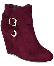 Keylie Wedge Booties