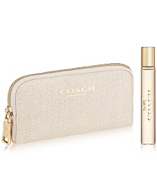 Receive a Complimentary 2-Pc. gift with any large spray purchase from the COACH Women's fragrance collection
