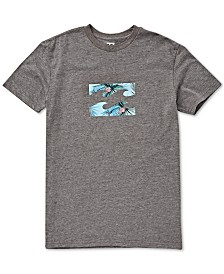 Billabong Toddler & Little Boys Wave-Print Cotton T-Shirt