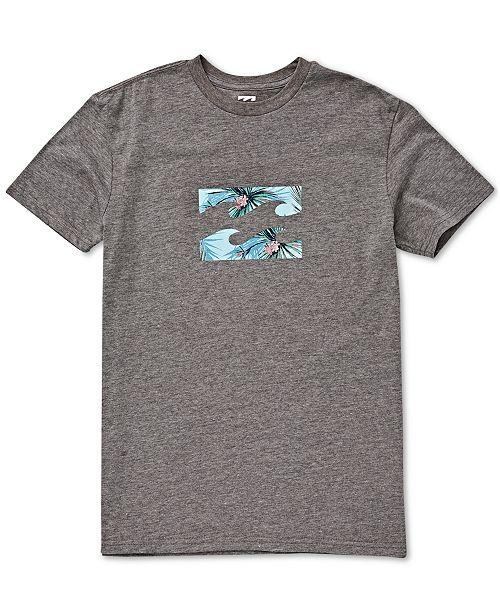 Billabong Toddler & Little Boys Wave-Print Cotton T-Shirt
