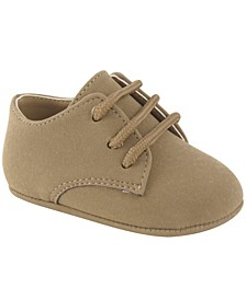 Baby Boy Suede PU Lace-Up Oxford