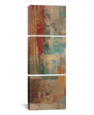"Oriental Trip Panel I by Silvia Vassileva Gallery-Wrapped Canvas Print - 36"" x 12"" x 1.5"""