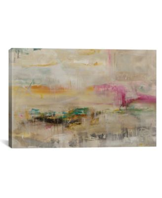 """Luxe Galaxy by Julian Spencer Gallery-Wrapped Canvas Print - 26"""" x 40"""" x 0.75"""""""