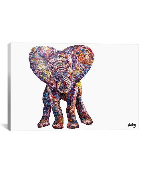 """iCanvas Caper by Becksy Gallery-Wrapped Canvas Print - 18"""" x 26"""" x 0.75"""""""