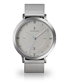 Zeitgeist Automatik Silver Steel Mesh Watch 42mm