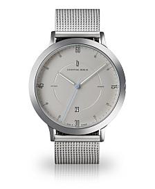 Lilienthal Berlin Zeitgeist Automatik Silver Steel Mesh Watch 42mm