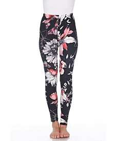 Women's One Size Fits Most Printed Leggings