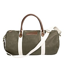 Cathys's Concepts Pers Green Duffle Bag