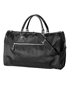 Cathy's Concepts Personalized Women's Microfiber Convertible Duffle Garment Bag