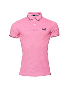Classic Poolside Pique Polo Shirt