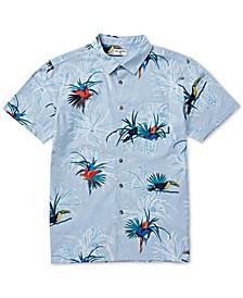 Men's Sundays Regular-Fit Tropical-Print Shirt