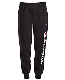 Champion Little Boys Script Logo Jogger Pants