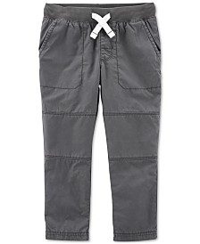 Carter's Baby Boys Cotton Drawstring Pants