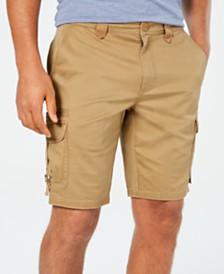American Rag Men's Twill Cargo Shorts, Created for Macy's