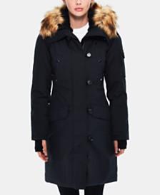 S13 Alaska Faux-Fur-Trim Hooded Parka