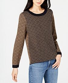 Alton Diamond-Pattern Sweater