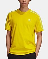 Adidas Men's Entrada Climalite Soccer Shirt in Yellow
