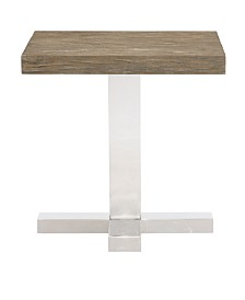 Bernhardt Pelham Pedestal End Table