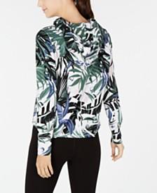 Calvin Klein Performance Printed Hoodie T-Shirt