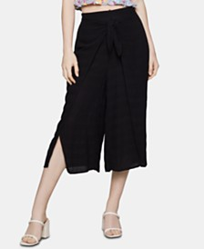 BCBGeneration Cropped Sarong Pants